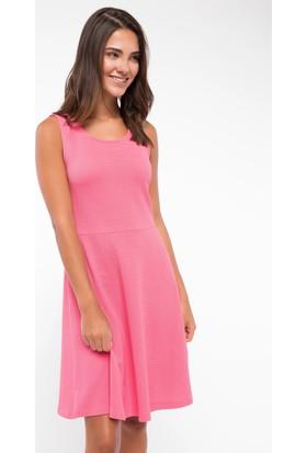 Defacto Basic Kalın Askılı Elbise