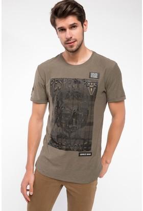 Defacto Baskılı T-Shirt