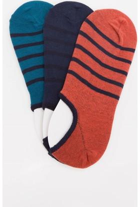 Defacto Çizgili Çorap Seti