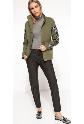 Defacto Desenli Trend Pantolon