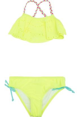 Defacto Lazer Kesim Örgü Askı Detaylı Bikini