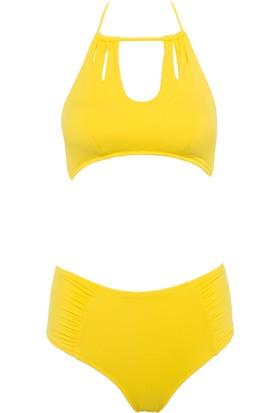 Defacto Halter Kesim Bikini Takımı