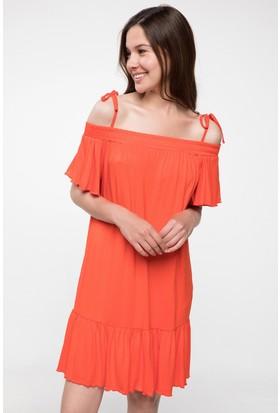Defacto İnce Askılı Salaş Elbise