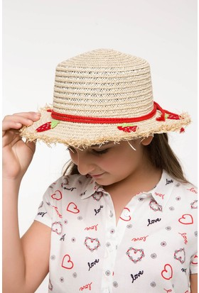 Defacto Kız Çocuk Şapka