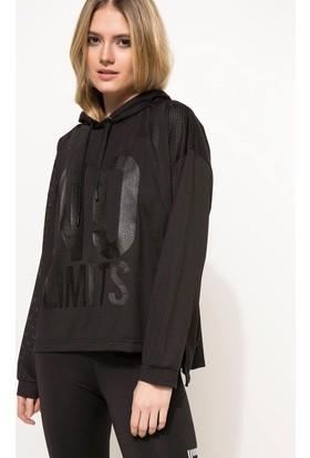 Defacto Kapüşonlu Sporcu Sweatshirt
