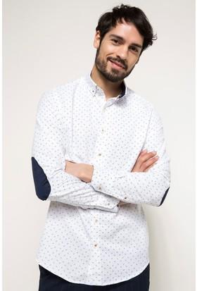 Defacto Modern Fit Baskılı Gömlek