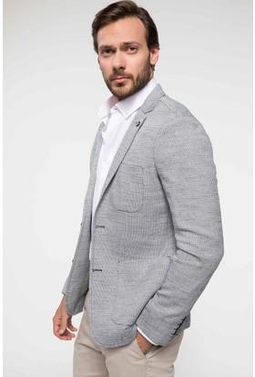 Defacto Modern Fit Cep Detaylı Blazer Ceket