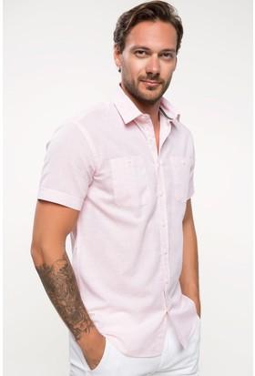 Defacto Slim Fit Kısa Kollu Gömlek