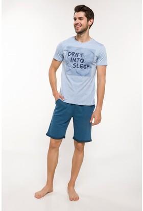 Defacto Slim Fit Pijama Takımı