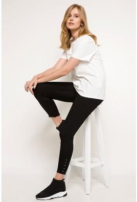 Defacto Trok Detaylı Ekstra Slim Fit Pantolon