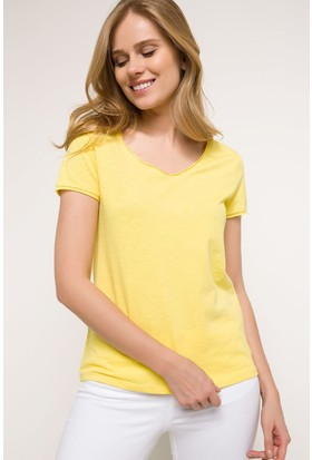 Defacto V Yaka T-Shirt