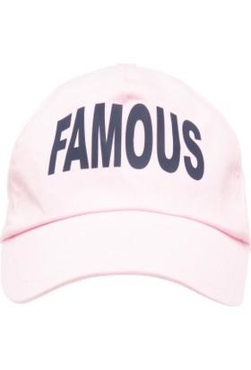 Defacto Yazı Baskılı Şapka