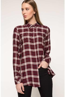 91d5d268fd8 Kirmizi Kadın Gömlekler Modelleri ve Fiyatları & Satın Al