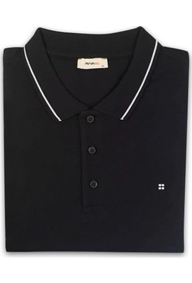 Avva Siyah Polo TShirt