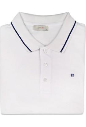 Avva Beyaz Polo TShirt