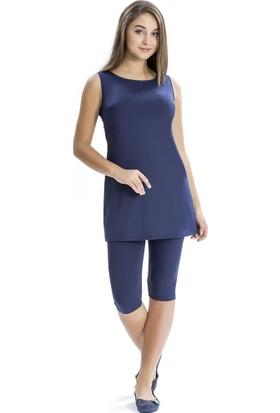 Armes Yarım Tesettür Kadın Elbise Mayo 8101