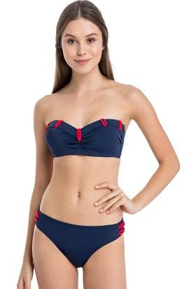 Dagi Kadın Bikini Takımı Mayo Straplez Kaplı 1155Bk