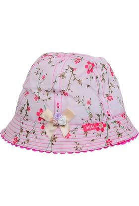 Kitti Kız Çocuk Balıkçı Şapka Plaj Kumsal Yazlık 1-4 Yaş Krem 8120-4