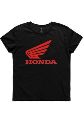 Art T-Shirt - Honda Araba Motorsiklet Logo Erkek Tişört