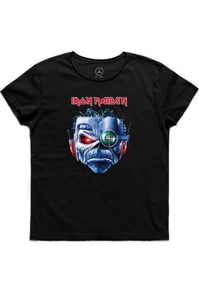 Art T-Shirt - Iron Maıden Eddıe'S Head Erkek Tişört