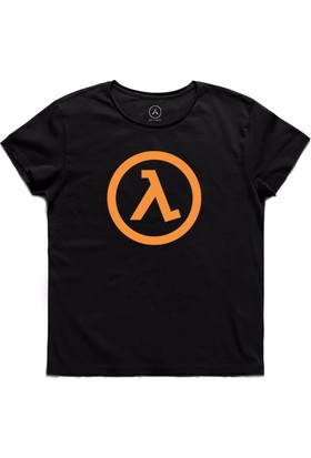 Art T-Shirt - Half Lıfe Game Oyun Logo Erkek Tişört