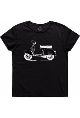 Art T-Shirt - Vespa Drıve Erkek Tişört