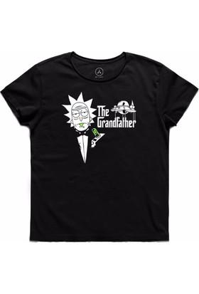 Art T-Shirt - Rıck And Morty The Grandfather Erkek Tişört