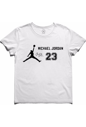 Art T-Shirt - Michael Jordan 23 Air Jordan Erkek Tişört