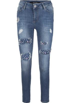 Fashion Friends Jeans Bayan Kot Pantolon 1441