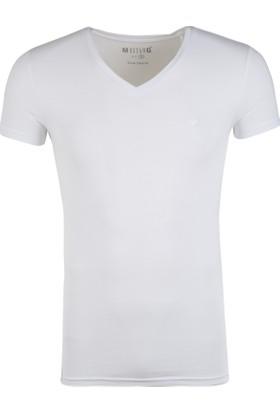 Mustang Erkek T Shirt 04M00008200