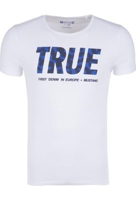 Mustang Erkek T Shirt 04M00186200