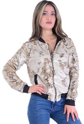 Miss Selen's 6794 Pullu Kadın Ceket - 18-1B453001