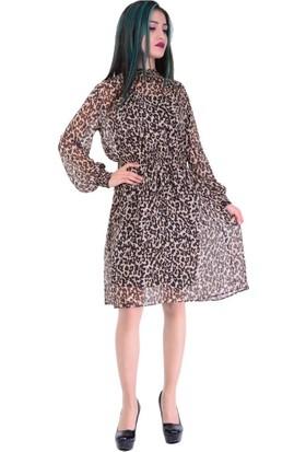 Ayriss 6881 Gipeli Kadın Elbise - 18-1B374005
