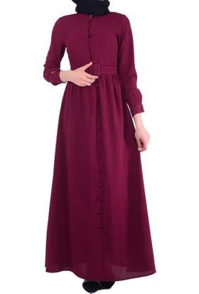 Mas 3215 Kemerli Kadın Elbise - 18-1B409011