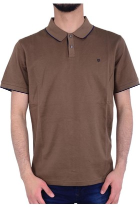 Tony Montana 1011-1 Erkek Polo Yaka Tshirt - 18-1E168005