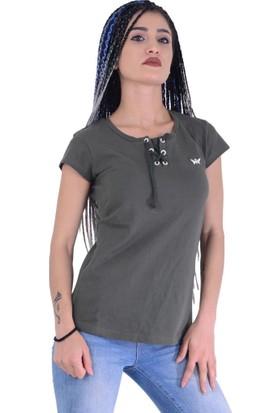 Divon Tekstil - Divon 4432 Kadın Tshirt - 18-1B664004
