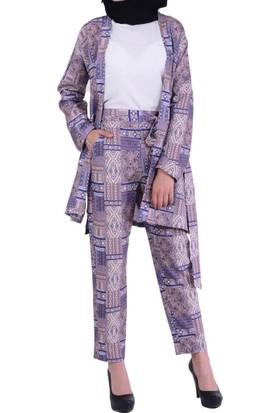 Estelle - Bilge Yılmaz 3353 Kadın Tunik Takım - 18-1B571050