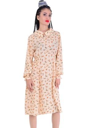 Beliz 4666 Kadın Elbise - 18-1B253009