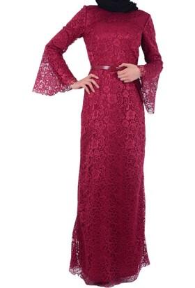 Arin 39063 Kadın Dantelli Elbise - 18-1B276007