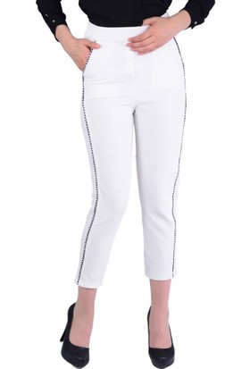 Lsk 2895 Yan Detaylı Kadın Pantolon - 18-1B599012