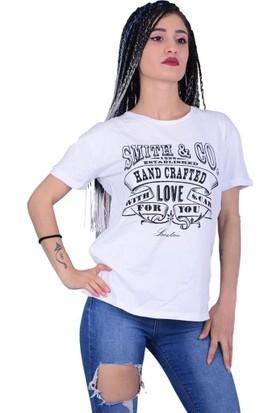Divon Tekstil - Divon 7692 Arkası Kadın Püsküllü Tshirt - 18-1B664005