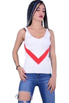 Qu Style 5211 Kadın Askılı Atlet - 18-1B732003
