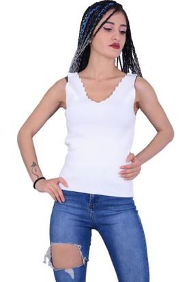 Qu Style 5214 Kadın Askılı Atlet - 18-1B732004
