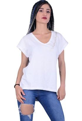 Qu Style 0112 Kadın Tshirt - 18-1B732006