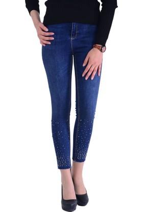 Miss Selen's 0310 Kadın Kot Pantolon - 18-1B453006
