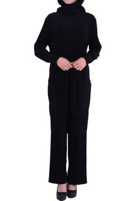 H.B.S Women 6001 Kadın Tunik Pantolon Takım - 18-1B656005
