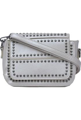 Exclusive Kadın Askılı Çanta Gümüş