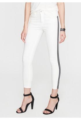 Mavi Tess Beyaz Şeritli Gold Jean Pantolon