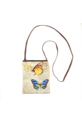 Mathilde Butterfly Crossbody Çanta