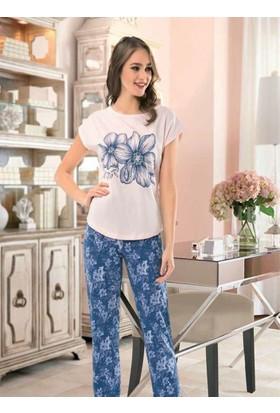 Nbb 66265 Pijama Takımı Somon